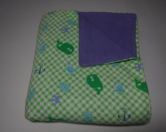baby blanket, flannel baby blanket, gender neutral baby blanket ready to ship
