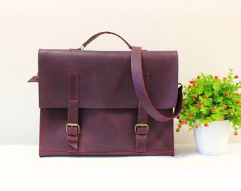 Leather Crossbody Rucksack MacBook Leather Bag Hipster Backpack Convertible Backpack Leather Briefcase Laptop Backpack Convertible Bag