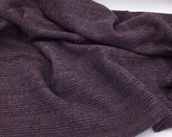 Romancing the Stone Purple, Felted Wool Fabric for Rug Hooking, Wool Applique and Crafts