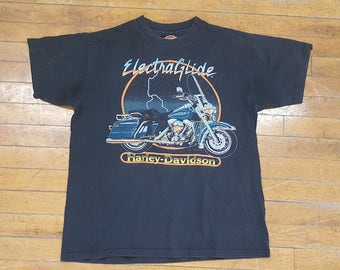 "Harley Davidson Motorcycles ""Electra Glide"" T-shirt"
