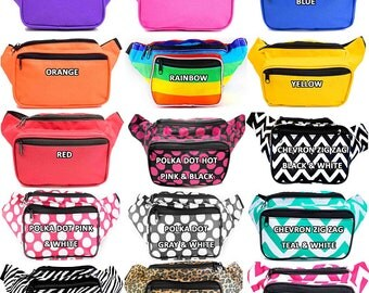Fanny Packs CUSTOM / PERSONALIZED & FREE shipping by SoJourner Bags