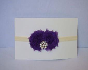 Plum Purple Baby Headband