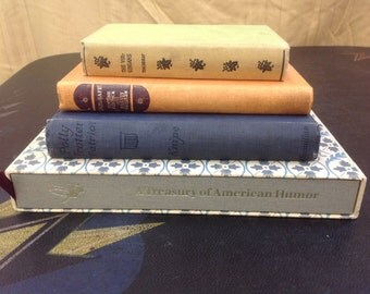 Decorative Vintage Book Set