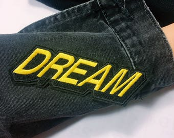 Y/Dream/ free shipping iron on patch / embroidery appliqués