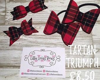 Tartan triumph bows