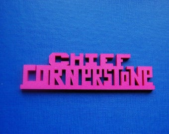 Christian 3D print - Chief Cornerstone