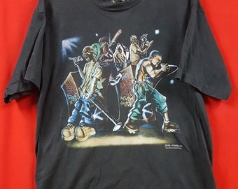 Rare!!! Vintage 90's Echo Unlimited T-Shirt for Adult