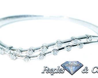 Diamond Women's Fancy Bangle/Bracelet