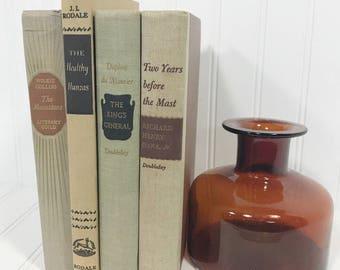 Brown Vintage Book Set