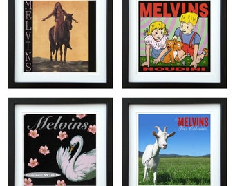 Melvins - Framed Album Art - Set of 4 Images