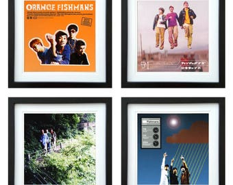 Fishmans - Framed Album Art - Set of 4 Images