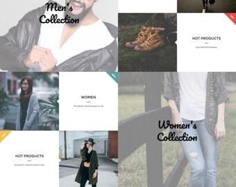Moon Store - Responsive Fashion Shopify Theme