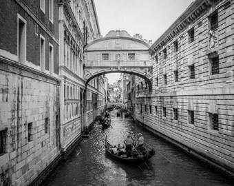 Bridge Of Sighs Venice, Venice Photography, Italy Photography, Venice Canals, Fine Art Print Italy, Venice Print, Italy Print