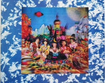 Rolling Stones Their Satanic Majesties Request Lp UK Press ffss Jagger NM- Decca
