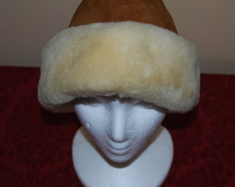 Natural Sheepskin Woman's Hat