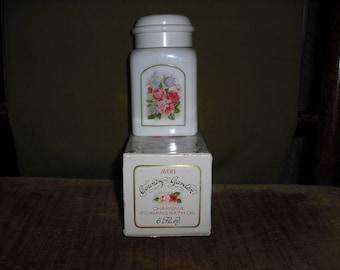 AVON's Country Garden Foaming Bath Oil Decanter