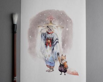 Yasashi sa - Fine Art Print