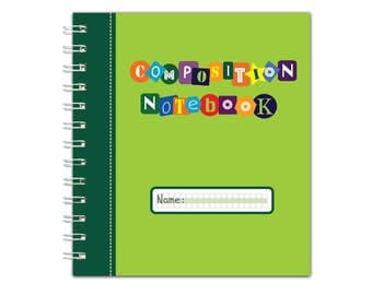 Channie's Visual Composition Book for Class notes, creative writing
