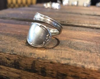 Simple spoon ring. Size 8