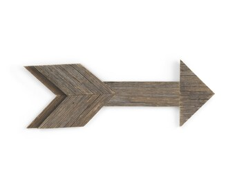 Small wooden arrow, old wood, home wall decor, rustic style, hygge, gift, wall hangings art, old wood texture