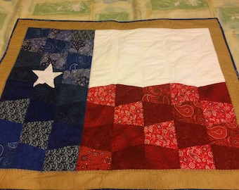 Texas Quilt with border with sleeve