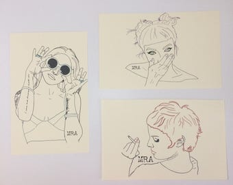 Cute Babes Prints