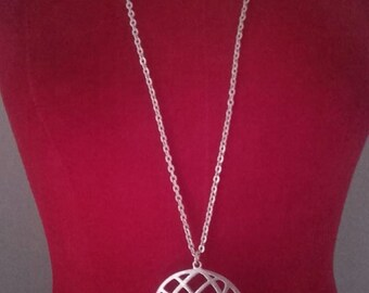 Chain necklace with pendant vintage anni 70