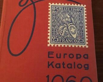 Zumstein Europa Katalog 1960