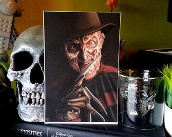 Freddy Krueger Print - 4x6