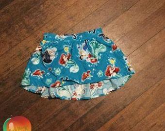 Little Mermaid Tulip Skirt ~ Size 5