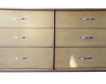 "Mid-Century Modern- Kent Coffey Long Dresser ""The Holmes"""