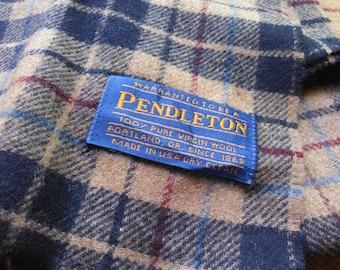 Vintage Pendleton Cashmere Scarf Vintage Pendleton Scarf Made in USA