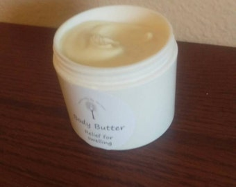 Skin nourishing body butter