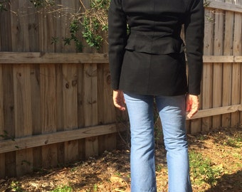 Vintage equestrian style riding jacket