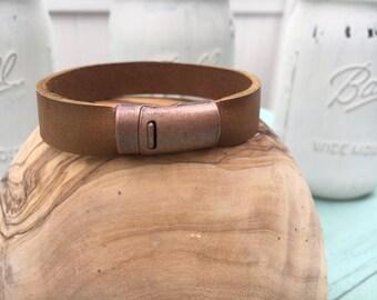 Leather Bracelet - Mens Bracelets - Bohemian Jewelry - Joanna Gaines - Bracelets - Everyday Bracelet - Bracelets for Women - Boho Bracelet