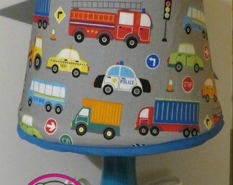 sewn Lampshade, ready for delivery