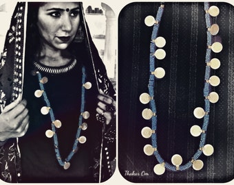 Original gypsy tribal and vintage Necklace / Belt