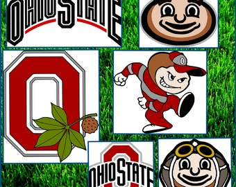 Ohio State SVG - Ohio State Football Layered SVG files - Ohio Designs for Cricut and Silhouette