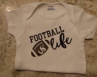Football is life 12 Month Onesie