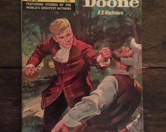 Vintage Lorna Doone comic book, by R. D. Blackmore, Classics Illustrated, 1968, 25 cents
