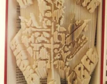 True North Book Folding Pattern