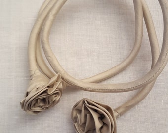 silk necklace/bracelet