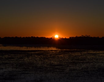 Sunrise at the Marsh