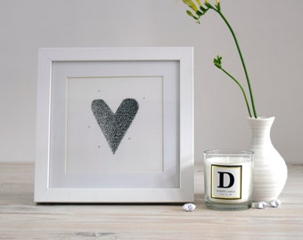 Valentine's gift 'Heart' Original ink drawing