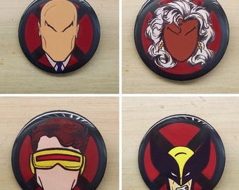 X-Men Pinback Buttons
