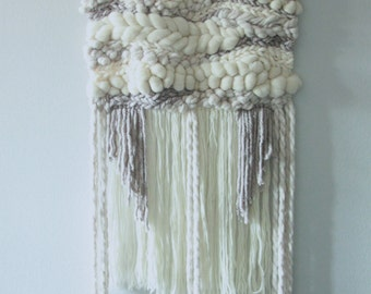 Large Beige Textured Wall Hanging