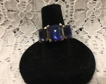 Celestial Blue Quartz Ring