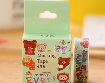Cute bears Washi Tape