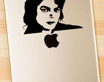 Michael Jackson - Vinyl Decal for MacBook, iPad, or Laptop