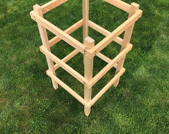 36 inch Cedar Garden Tomato Cage (sold in sets of 2)